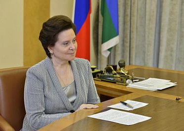 Наталья Комарова, Югра.|Фото: Пресс-служба губернатора ХМАО