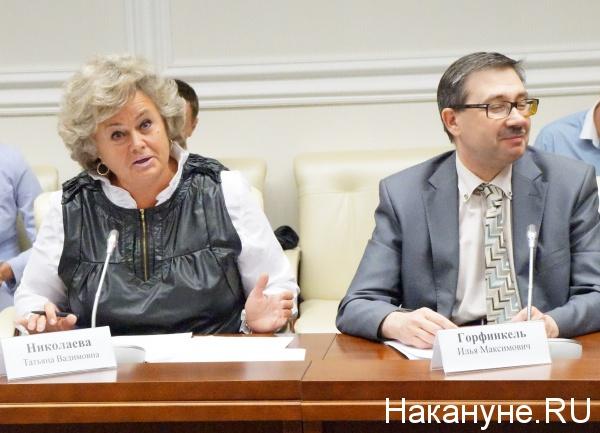 Татьяна Николаева, Совета по информационной политике при полномочном представителе Президента Российской Федерации  в Уральском федеральном округе|Фото:
