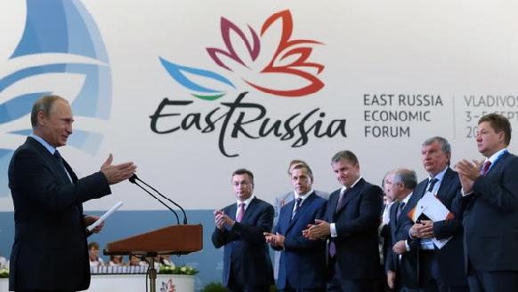 Владимир Путин на ВЭФ |Фото: