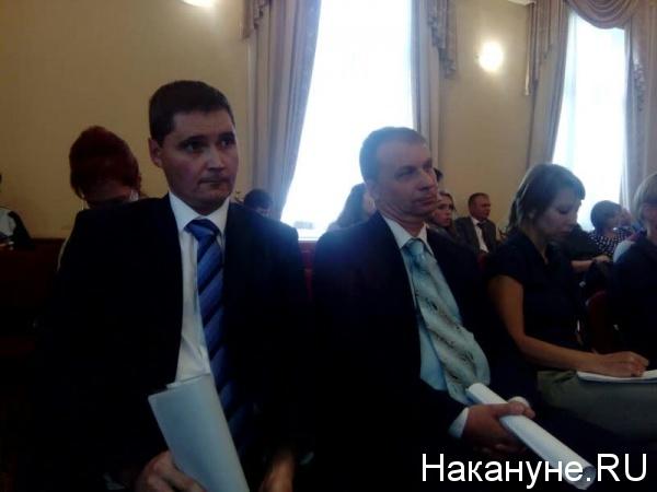 Сергей Сынников, Андрей Потапов Фото: Накануне.RU