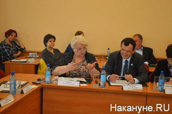 депутаты задают вопросы кандидатам на пост сити-менеджера|Фото:Накануне.RU