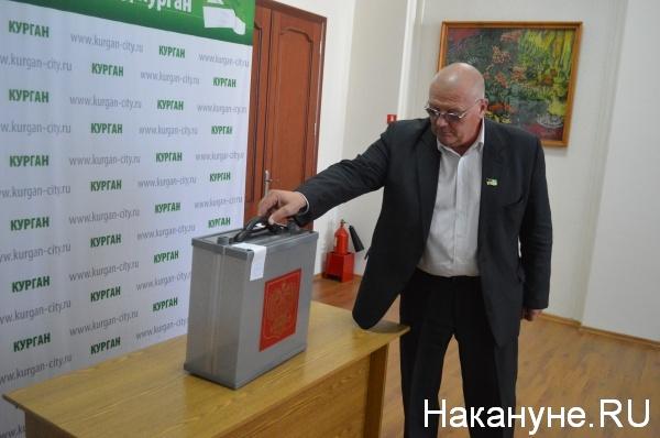 депутаты начинают голосовать за кандидатуру сити-менеджера Кургана|Фото:Накануне.RU