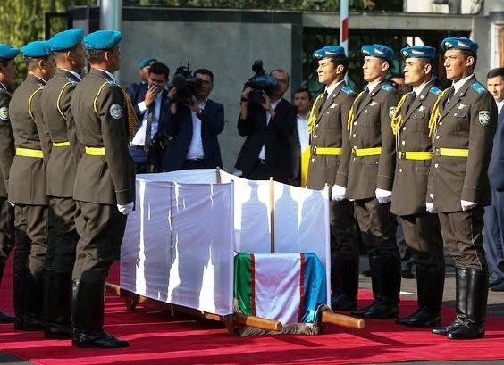 похороны Каримова Фото: vesti.ru