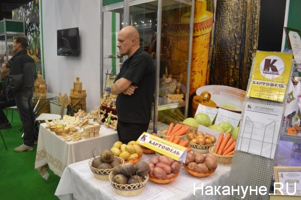 """выставка """"Экопродукты Урала - 2016"""" Фото:Накануне.RU"""