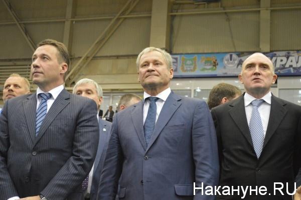 Алексей Кокорин, Борис Дубровский и Игорь Холманских Фото:Накануне.RU