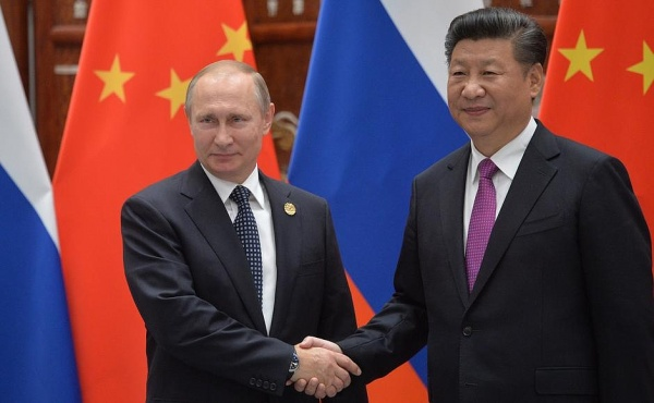 Владимир Путин Си Цзиньпин Фото: пресс-служба президента России