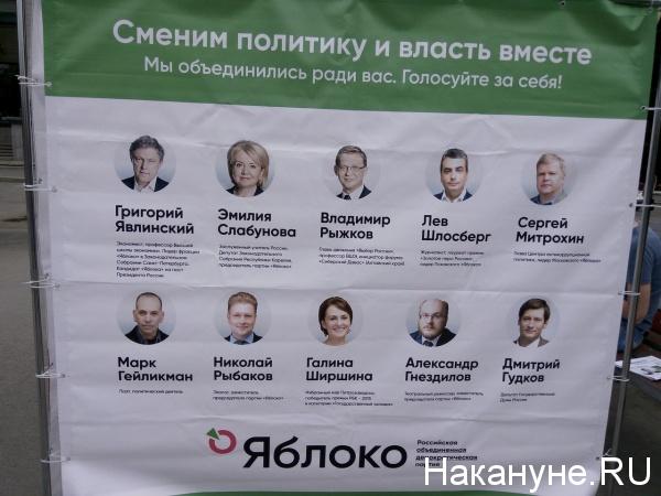 агитация, Яблоко, УрФУ|Фото: Накануне.RU