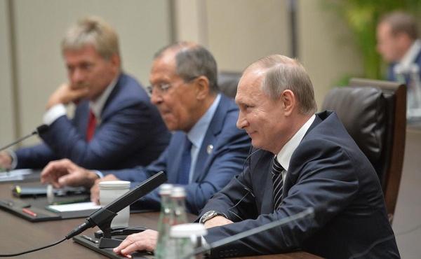 Владимир Путин Сергей Лавров|Фото: пресс-служба президента РФ