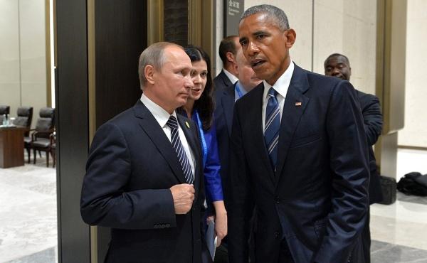 Владимир Путин Барак Обама|Фото: пресс-служба президента РФ