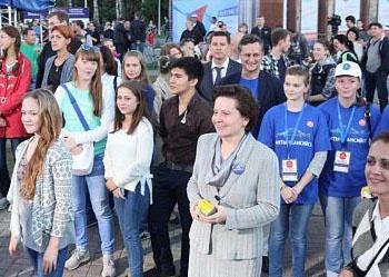 Наталья Комарова, всероссийский фестиваль энергосбережения.|пресс-центр правительства Югры