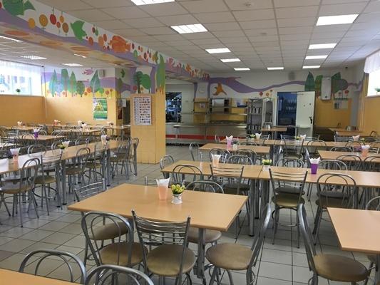 Новая школа Екатеринбург столовая Фото: prokuratura.ur.ru
