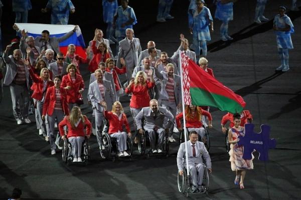 сборная Белоруссии Паралимпиада открытие российский флаг|Фото: Reuters