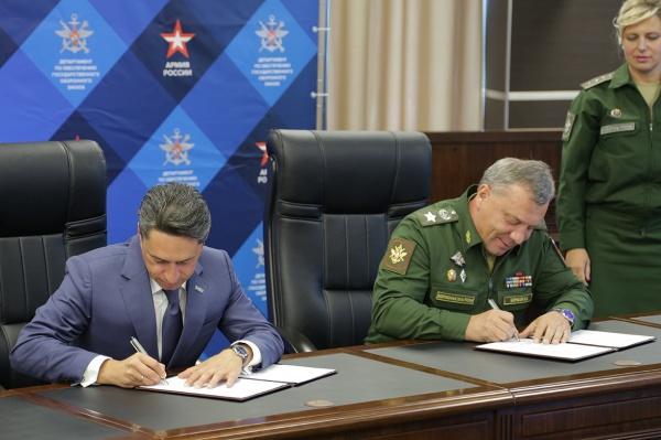 Сиенко, подписание контракта, УВЗ, Уралвагонзавод|Фото: УВЗ