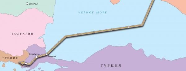 Турецкий поток, газопровод|Фото: odnako.su