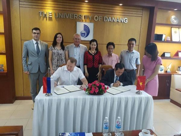 делегация КГУ, Вьетнам, Курганский госуниверситет|Фото:kgsu.ru