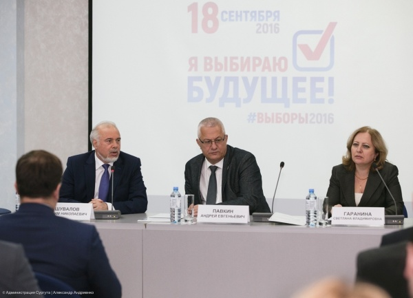 Шувалов, Сургут Фото:Администрация Сургута