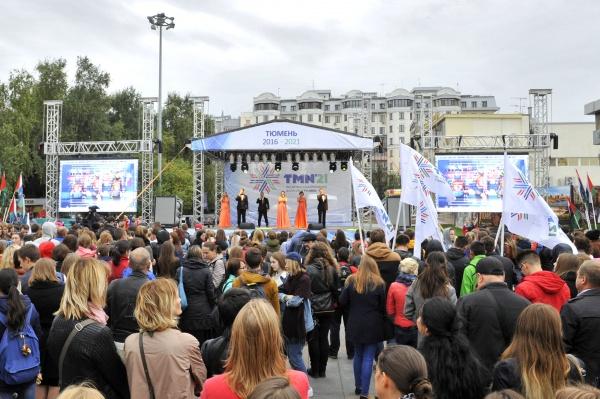 Концерт в поддержку биатлона, Тюмень, 9.9.16|Фото: admtyumen.ru