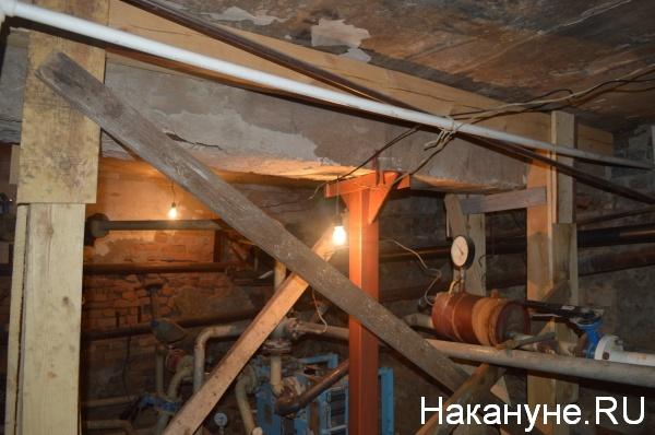 временные перекрытия в подвале|Фото:Накануне.RU