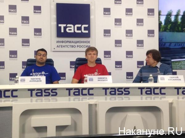 Эдуард Ахмедов, Никита Якушов, Сергей Хусаинов Фото: Накануне.RU