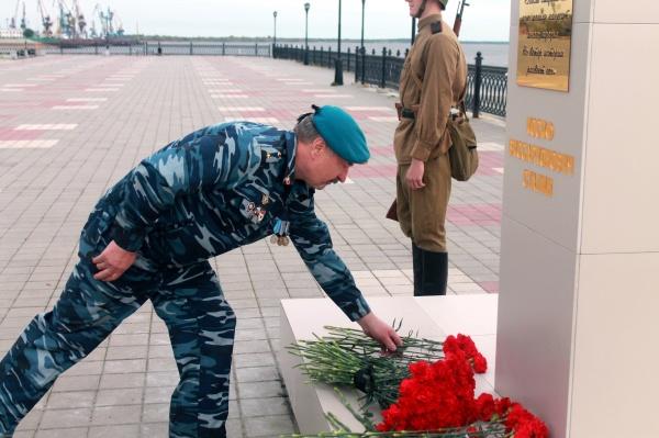 Открытие бюста Сталина в Сургуте, 15.9.16|Фото: vk.com