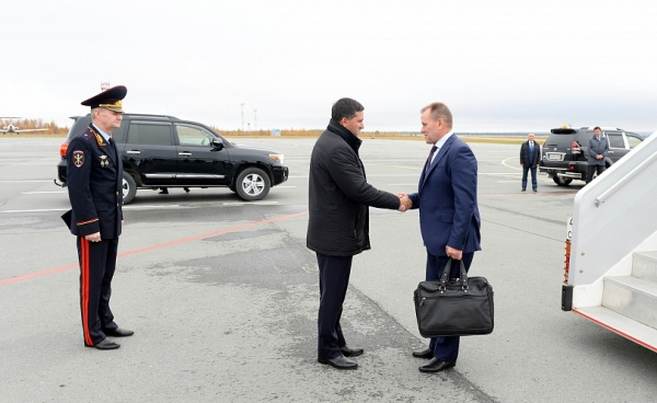 Кобылкин, Гостев, МВД|Фото: правительство.янао.рф