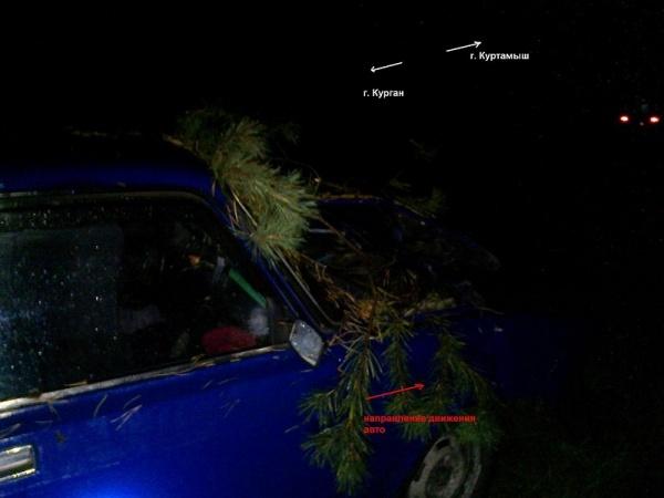 Куртамыш, авария, ВАЗ|Фото:ГИБДД УМВД России по Курганской области