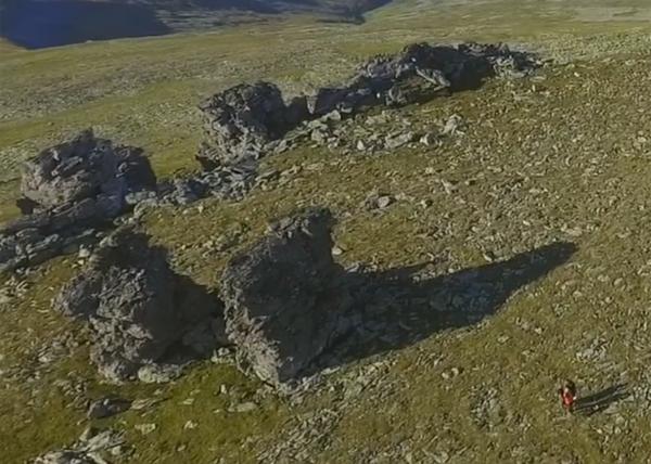 перевал Дятлова, квадрокоптер Фото: youtube.com