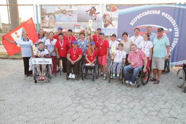 Пара-Крым-2016, параспортсмены,|Фото: пресс-служба губернатора Челябинской области