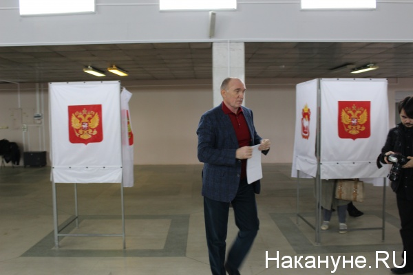 Борис Дуборвский, голосование, выборы в Госдуму,|Фото: Накануне.RU