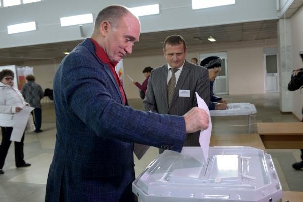 Борис Дуборвский, голосование, выборы в Госдуму,|Фото: пресс-служба губернатора Челябинской области