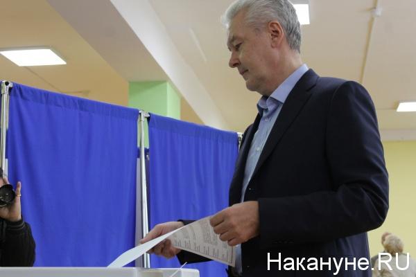 Сергей Собянин голосование выборы 2016|Фото: Накануне.RU