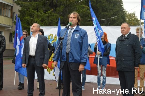 Александр Ильтяков, Сергей Лисовский и Василий Шишкоедов|Фото:Накануне.RU