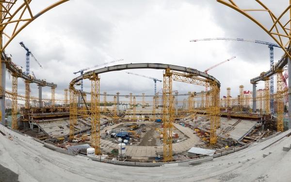 Центральный стадион, трибуны, Екатеринбург-Арена|Фото: Синара-Девелопмент