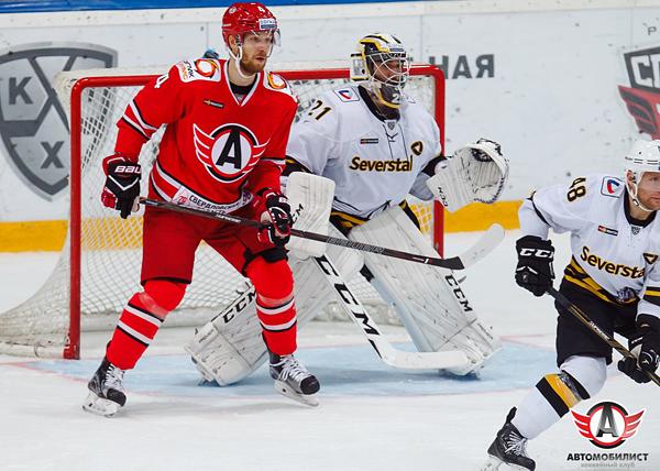 хоккей, КХЛ, Автомобилист - Северсталь|Фото: ХК Автомобилист