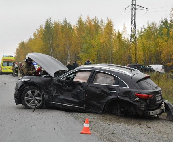 Нижневартовск - Радужный, авария, обочина Фото: vk.com