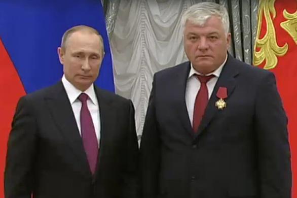 Владимир Рощупкин, Владимир Путин|Фото: УВЗ