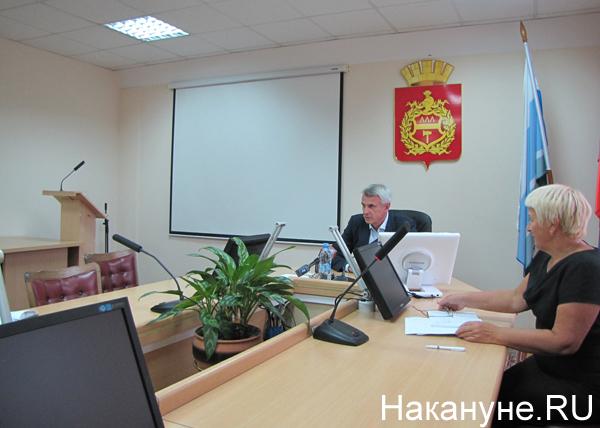 Сергей Носов, пресс-конференция, Нижний Тагил|Фото: Накануне.RU