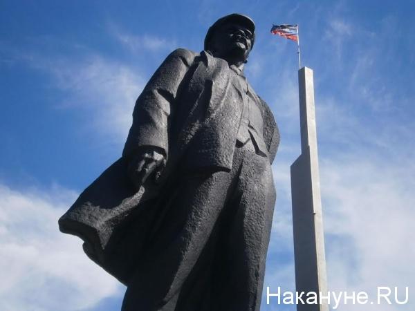 памятник Ленину, Донецк, ДНР|Фото: Накануне.RU
