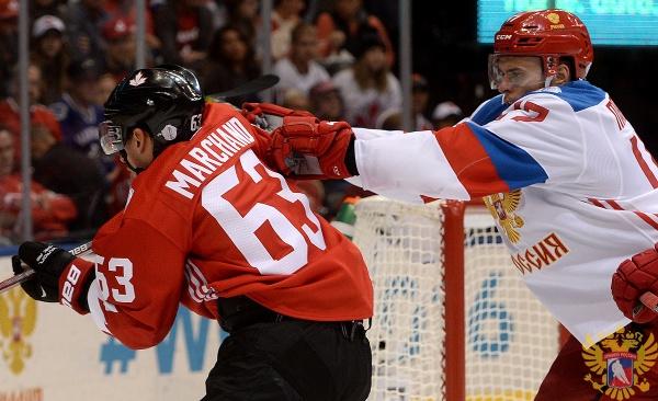 Канада Россия хоккей Кубок мира|Фото: fhr.ru