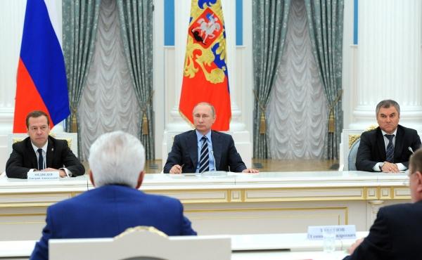 Медведев, Путин, Володин|Фото: kremlin.ru