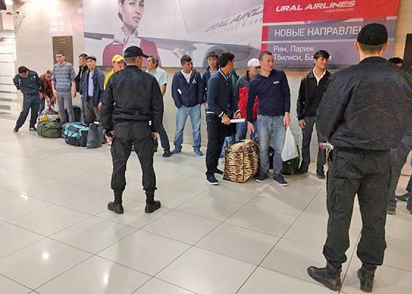 Екатеринбург, приставы, нелегалы, узбеки|Фото: УФССП Свердловской области