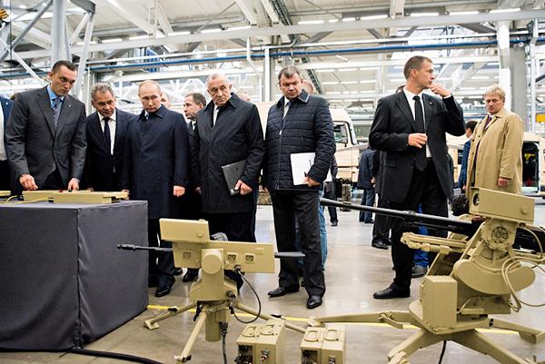 концерн Калашников, Путин, Шойгу, Рогозин|Фото: kalashnikov.com