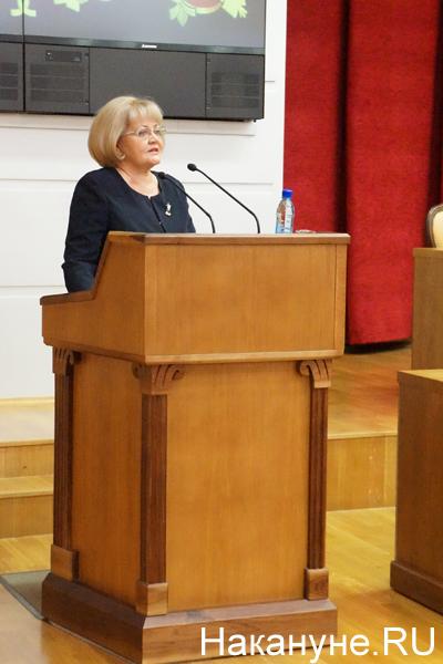 вручение удостоверений об избрании в Заксобрание Свердловской области, Бабушкина|Фото: Накануне.RU