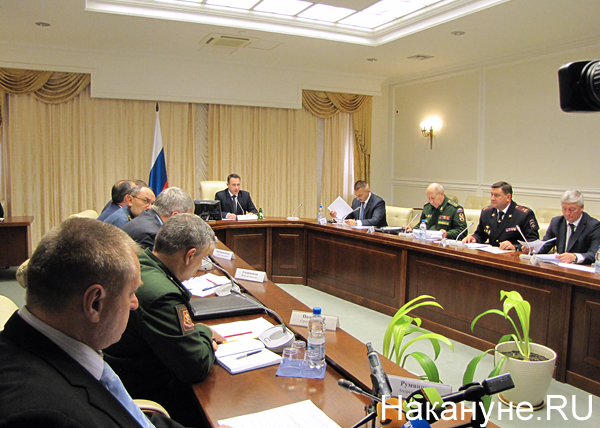 Заседание Коллеги по безопасности, Игорь Холманских|Фото: Накануне.RU