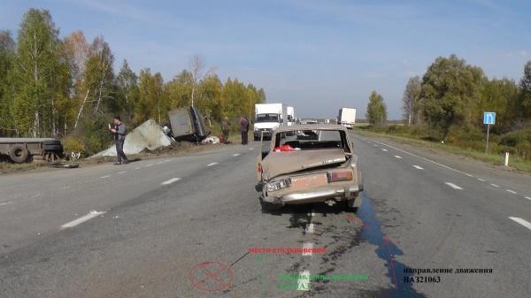 авария, ДТП, Белозерское, КАМАЗ|Фото:ГИБДД УМВД России по Курганской области