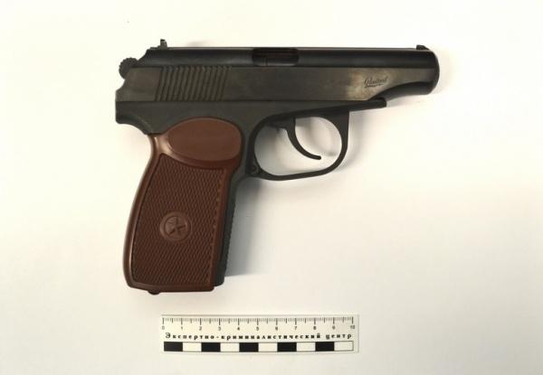 пистолет оружие|Фото: УВД на Московском метрополитене