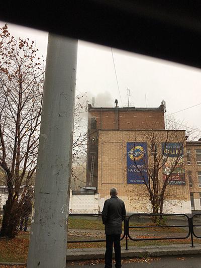 Екатеринбург, ДК Лаврова, пожар|Фото: vk.com
