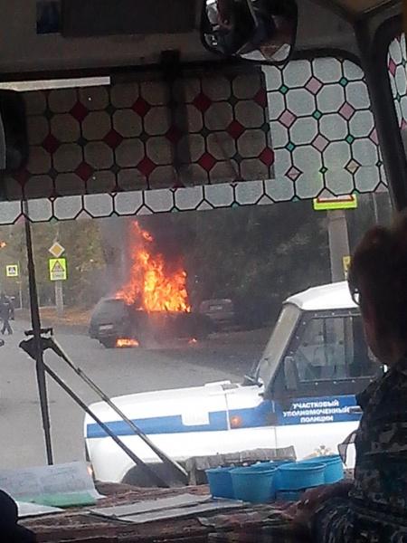 пожар, Курган, Коли Мяготина|Фото:vk.com