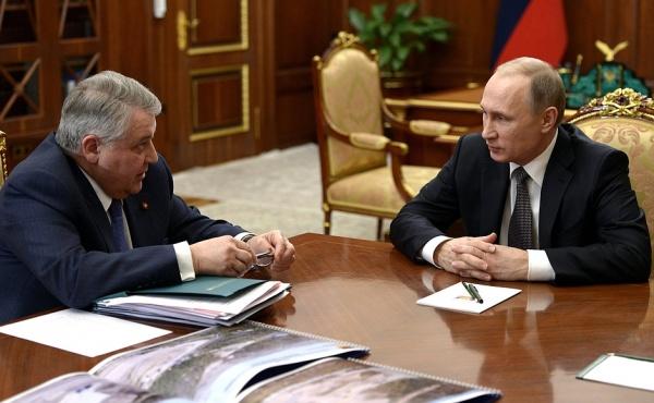 Михаил Ковальчук, Владимир Путин|Фото: kremlin.ru