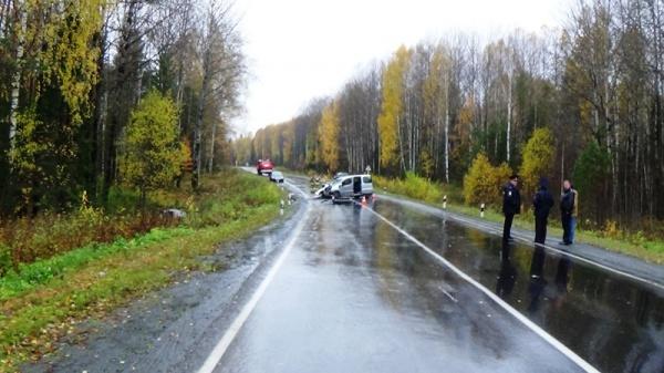 Первоуральск – Шаля трасса ДТП|Фото: ГИБДД Свердловской области